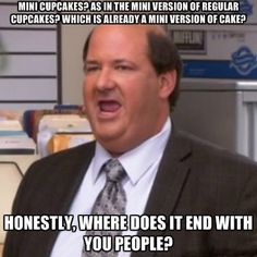 Kevin is my favorite person on the office