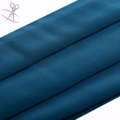 This collection of Dark Teal Chelsea Chiffon creates beautiful maxi dresses, sheer blouses, scarves, wraps, headbands and much more. Just like regular chiffon, its fabulous drape qualities make it ideal for flowing clothes, such as flowy skirts or wide-legged pants, but provide a stronger, sturdier feel.