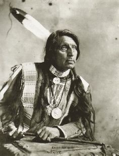 old-hopes-and-boots:  Chief Red Shirt, Oglala Sioux