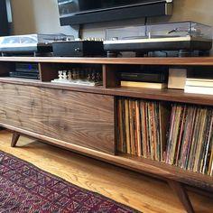Tv Console Modern, Console Tv, Modern Tv, Danish Modern, Midcentury Modern, Modern Credenza, Vintage Stereo Console, Tv Stand Cabinet, Stereo Cabinet