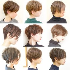 The Short Pixie Cut - 58 Great Haircuts You'll See for 2019 - Hairstyles Trends Tomboy Hairstyles, Trending Hairstyles, Hairstyles Haircuts, Short Choppy Hair, Girl Short Hair, Short Hair Cuts, Pixie Bob Haircut, Short Pixie Haircuts, Shot Hair Styles