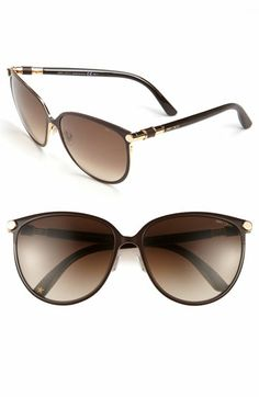 24f54ba34f Jimmy Choo  Juliet  60mm Cat s Eye Sunglasses available at  Nordstrom Red  Pumps