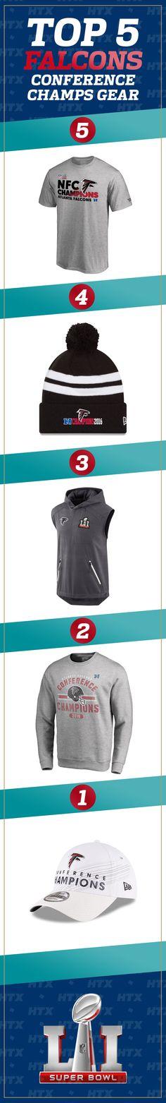683eca5f6 Your Atlanta Falcons are Super Bowl LI-bound NFC Championships. Time to  dress like