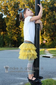 Tutorial - chiffon and jersey skirt from make it and love it