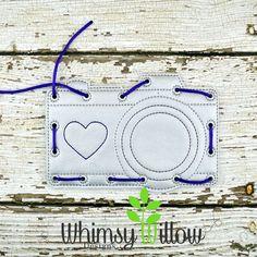 Camera Lacing Card