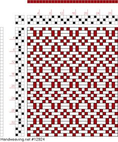 draft image: Figure 147, Glossary of Weaves Serial 501, International Textbook Company, 3S, 3T