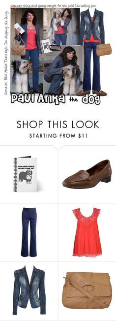 Paul Anka the Dog by gakranz on Polyvore featuring Forever 21, Oasis, Monsoon and Rockport