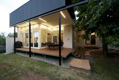 modern wings house extension simple architecture