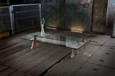 Table basse Maison Turrini par Luigi Gorgoni