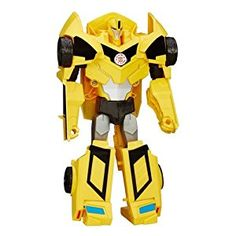 Transformers Robots in Disguise 3-Step Change Bumblebee Action Figure: Amazon.co.uk: Toys & Games