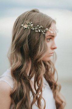 Bridal Hairpiece Bridal Headpiece Wedding HeadBand Bridal Hair