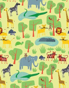 Jungle by Ed Miller Design, via Behance