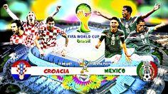 Grupo A: Partido Croacia vs Mexico