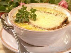Луковый суп - рецепт французского лукового супа.