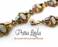 Presa Linda Bracelet Tutorial by Carole Ohl and Linda por openseed