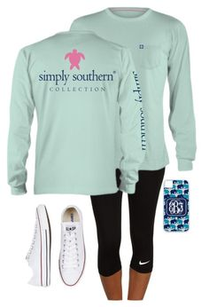 """""""Thanks so much for 1,000!!"""" by jane-dodge ❤ liked on Polyvore featuring NIKE, Converse and squad"""