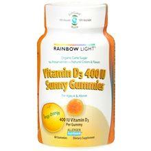 Vitamin D3 400 IU Dietary Supplement Sunny Gummies, Tangy Orange #happyhealthy