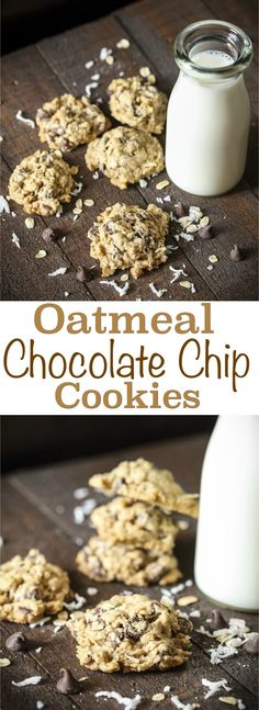 Try the best coconut oatmeal chocolate chip cookies you've ever tasted! With the perfect balance between oatmeal, coconut and chocolate chips, plus easy clean up for the best baking with kids experience! via @2creatememories