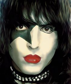 One of the greatest frontmen in rock Paul Stanley from KISS Paul Stanley, Gene Simmons, Banda Kiss, Pochette Cd, Kiss World, Kiss Rock Bands, Rock Band Posters, Kiss Art, Kiss Pictures
