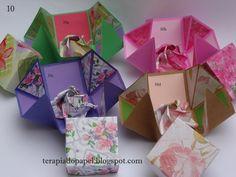 O que é meu é nosso: Origami - Caixa Convite (Invitation Card Box)