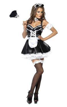 Costumes Sexy Halloween, Sexy Costumes For Women, Halloween Dress, Adult Halloween, French Maid Fancy Dress, French Maid Costume, Maid Cosplay, Cosplay Outfits, Dress Outfits
