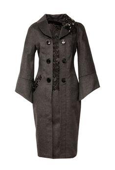 Пальто c элегантным воротником | Главная