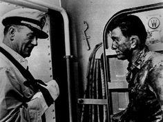 In Harms Way Captain Rockwell 'Rock' Torrey and Commander Paul Eddington Premium Art Print