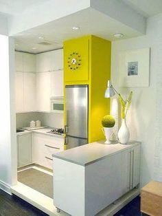 Muebles esenciales para una cocina pequeña