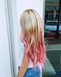 Pink bayalage