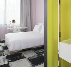 Mamashelther - Bordeaux #Balsan #reference #hotel #Mamashelter #Bordeaux #design #interiordesign #interiors #interiordecor #interiordecoration #interiordesignideas #color #carpet #modern #Creativity #flooring #artistic #designinspiration #flooring #textiledesign