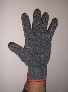 gloved hand, a tight-fittng cloth or course weave material glove can reduce CTS symptoms at night