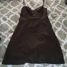 J Crew cocktail dress. Beautiful, rich brown color, looks great with a tan. Beach wedding, cocktail dress, or going out on a summer night, it's so flattering! J. Crew Dresses