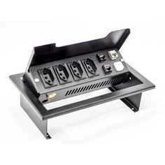 (1) Caixa De Tomadas Mesa 4 Tomadas Elétrica+ 4 Pos. Rj-45 + N.f - R$ 316,00 em Mercado Livre