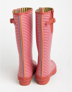 WELLY PRINT Womens Printed Rain Boots $78