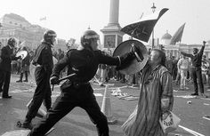 Poll Tax Riot London 1989