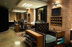 Ted Baker opens the Ottoman Lounge in his Holborn grooming room Global Blue