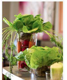 Cheap Veggie Decor
