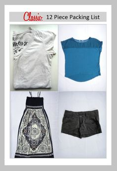 TFG's 12 Piece Classic Packing List offers you a versatile packing option you can customize to meet your needs on vacations, RTW trips, and other long term adventures. Combine these ideas with the Minimalist and Travel Essentials Packing List for flawless packing every time! http://travelfashiongirl.com/12-piece-classic-packing-list-spring-2013/ #travel #packing #list #fashion