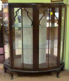 Vitrine Art déco L=1m02 P=38cm H=1m17. Antiquités Brocante,Meubles anglais - Au Vieux Chaudron