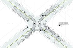 Исследователи США, Швейцарии и Италии разработали технологию Slot-based Intersections проезда перекрестков без использования светофоров.