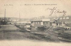 Bellevue Bas Meudon, bateaux mouches Parisiens