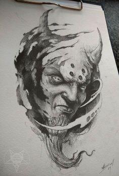 demon head by AndreySkull on @DeviantArt