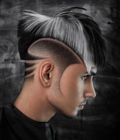 Side Part Haircut, Side Part Hairstyles, Oval Face Hairstyles, Boy Hairstyles, Beard Haircut, Fade Haircut, Blonde Grise, Mens Modern Hairstyles, Parting Hair