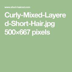 Curly-Mixed-Layered-Short-Hair.jpg 500×667 pixels