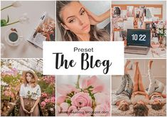 La Turquesa blog - Preset The Blog Grátis! Presets Do Lightroom, Lightroom Gratis, White Aesthetic, Instagram Feed, Presents, Blog, Photography, Wedding, Inspiration