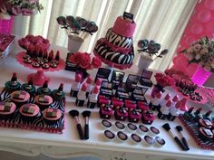 Fiesta temática de Maquillaje - Dale Detalles