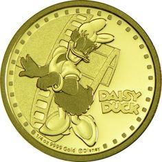 25 Dollar Gold Disney - Daisy Duck PP