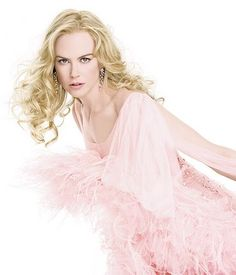 Nicole in Pink for the Chanel Commercial