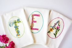 Monogram Kitchen Tea Towel, Kitchen Towel, Gifts for Hostess, House Warming, Bridesmaids Gift, Letter, Tea Towel, Flour Sack Towel,  Custom by AppleWhite on Etsy https://www.etsy.com/listing/468656235/monogram-kitchen-tea-towel-kitchen-towel