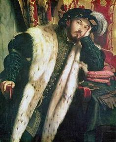 Portrait of a Young Man, c.1542 of artist Alessandro Bonvicino Moretto, Count, Ermine, Sciarra, Cesaresco, Martinengo